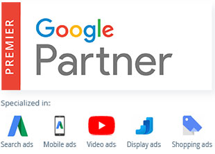 Google Ads service and Google partners