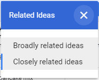 Related ideas